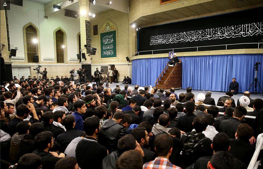 مراسم عزاداری اربعین در حضور رهبر انقلاب برگزار شد