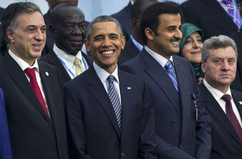 عکس/ معصومه ابتکار؛ باراک اوباما در یک فریم