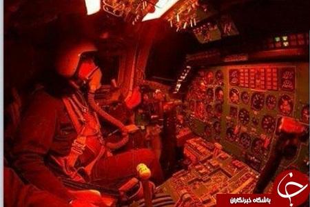 عکسی دیده نشده از کابین جنگنده روسی علیه داعش