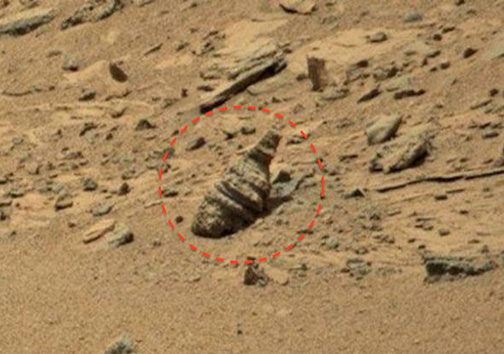 کشف بقایای معبدی باستانی در مریخ + تصاویر