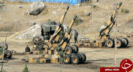 ارتش ترکیه در عملیات آزادسازی موصل +نقشه و عکس