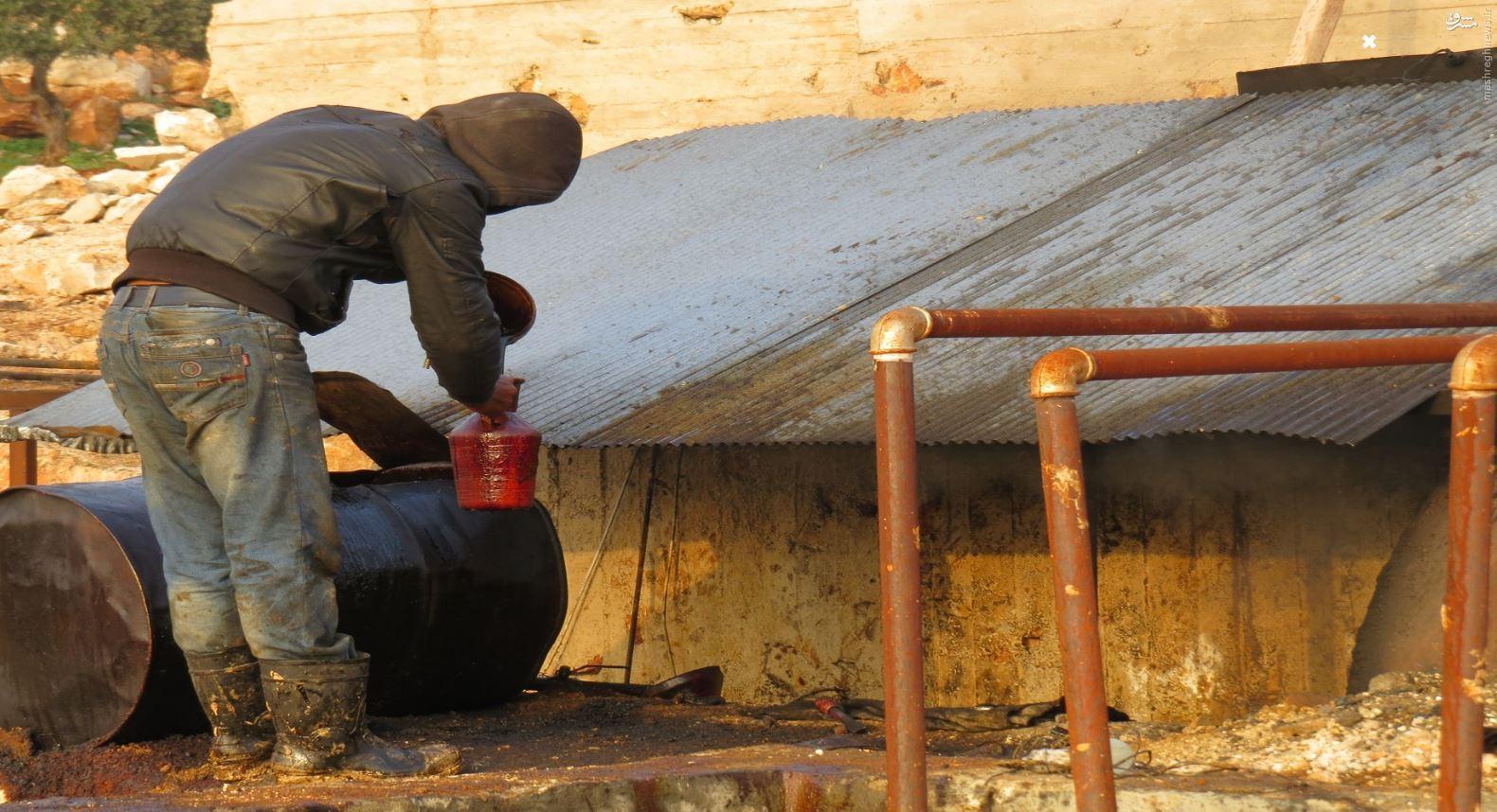 جزئیات استخراج، پالایش، نحوه انتقال و تبادل نفت داعش/ خریداران نفت داعش از چه مسیرهایی محمولههای خود را دریافت میکنند +سند