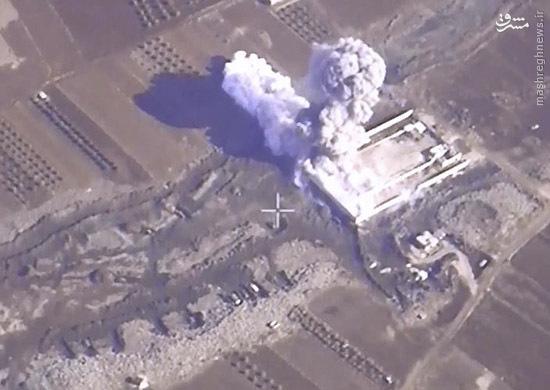 انهدام 1458 موضع تروریستها توسط جنگندههای روسیه + عکس و فیلم