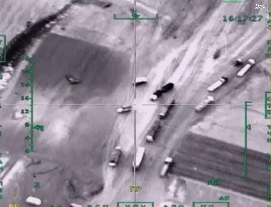 انهدام صدها موضع تروریستها توسط جنگندههای روسیه + عکس و فیلم