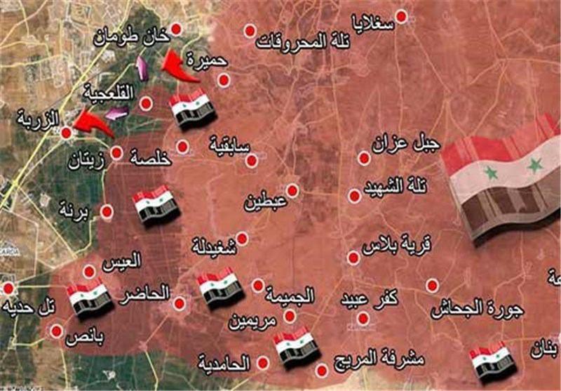 تحولات جدید در حلب و لاذقیه + نقشه