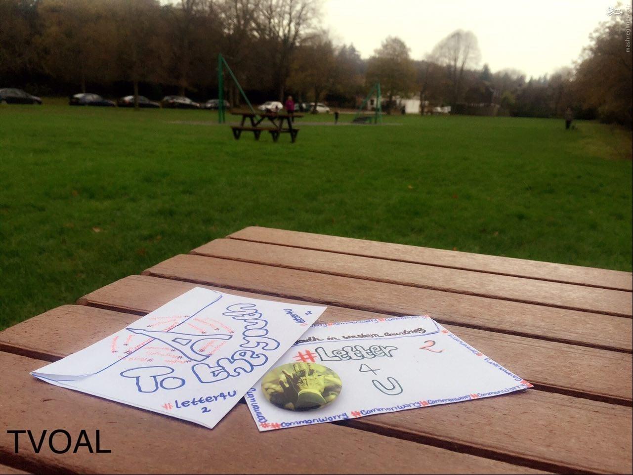 پخش خودجوش پاکتهای حاوی نامه رهبری در لندن +تصاویر