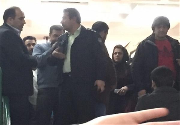 عباسپور برای ساکت کردن دانشجویان به حضور ناجا متوسل شد+ عکس