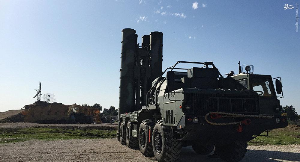 آمادهباش موشکهای اس-400 در مرزهای روسیه +عکس