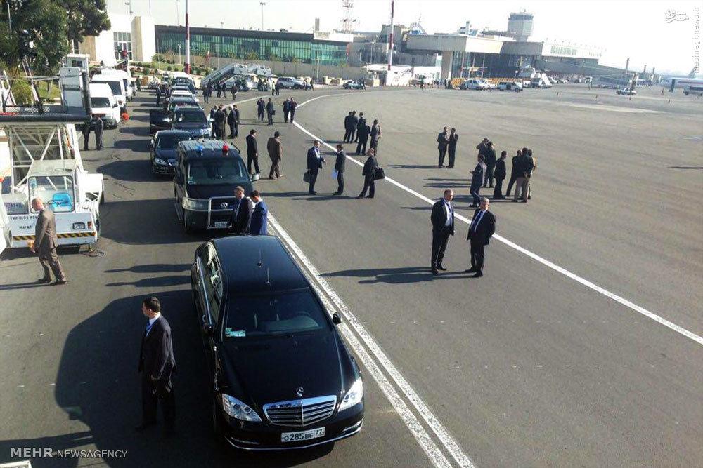 عکس/ خودروی تشریفات پوتین در تهران
