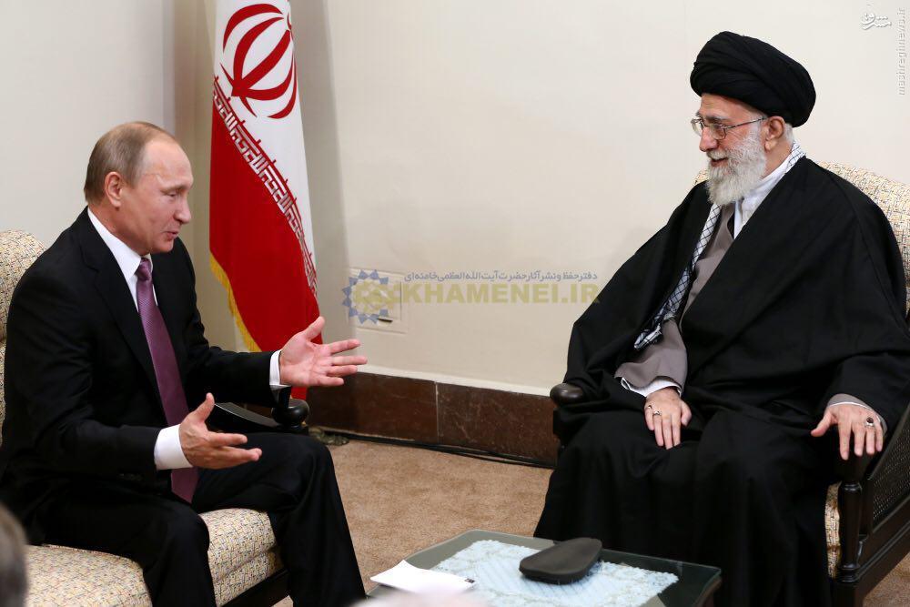 عکس/ دیدار پوتین با رهبر انقلاب