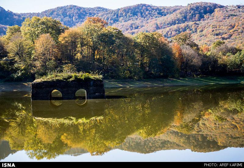 رومشگان فیلم عکس/ پاییز دریاچه عباس آباد