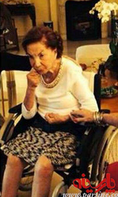 عکس/ اشرف پهلوی در 94 سالگی