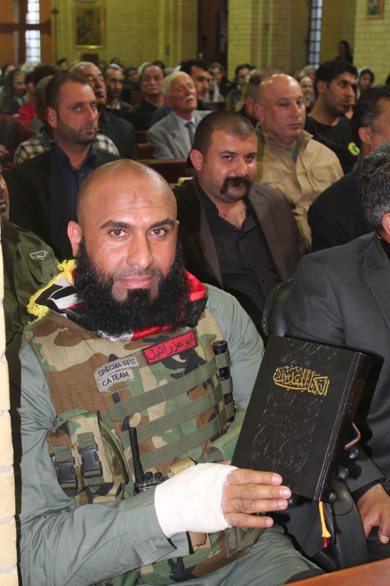 مسیحیانی که برای نابودی داعش دست به سلاح شدند/ رزمندگانی که از آنان چیزی نشنیدهاید +تصاویر