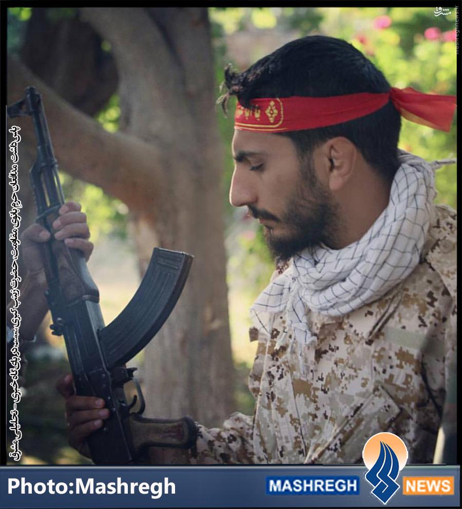 تصاویر/ فرمانده ایرانیِ «مدافعان حرمِ» افغانستانی