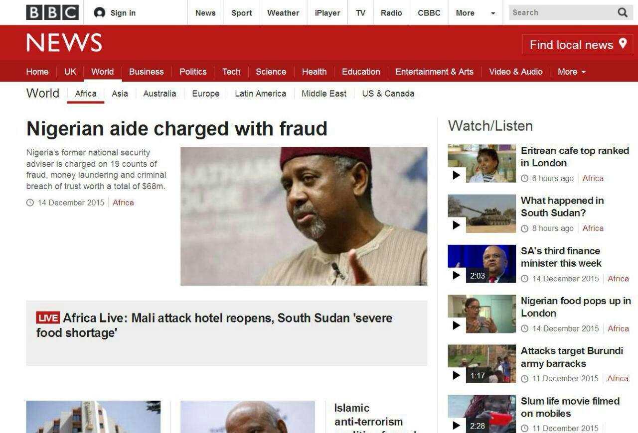 تنها خبری که بیبیسی از حوادث نیجریه منتشر کرد +عکس
