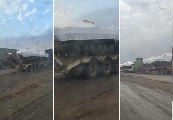 ورودمحمولههای سلاحهای روسی به عراق+عکس
