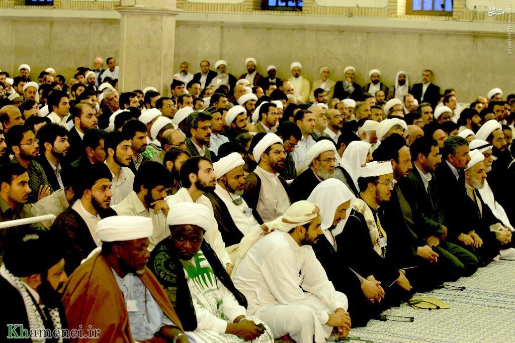 شیخ زکزاکی در دیدار رهبر انقلاب +عکس