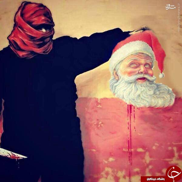 هدیه داعش به مسیحیان + عکس