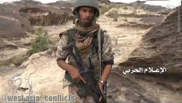 عکس/ غنیمت رزمنده یمنی از ارتش سعودی