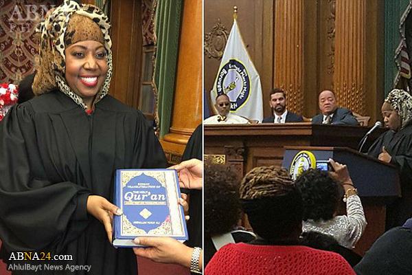 اولین قاضی محجبه در آمریکا +عکس