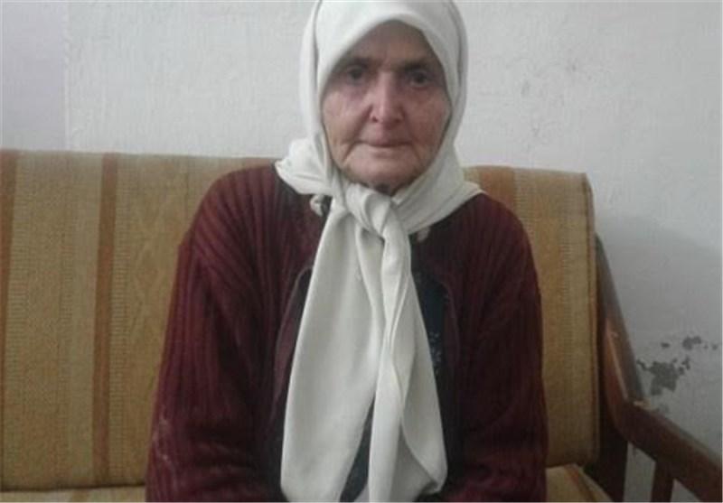 پیرزن سوری که رویای گرفتن فوق لیسانس را در سر میپروراند + عکس