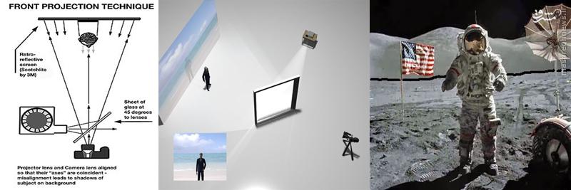 دستان هنرمند استنلی کوبریک پشت پرده فرود بر ماه