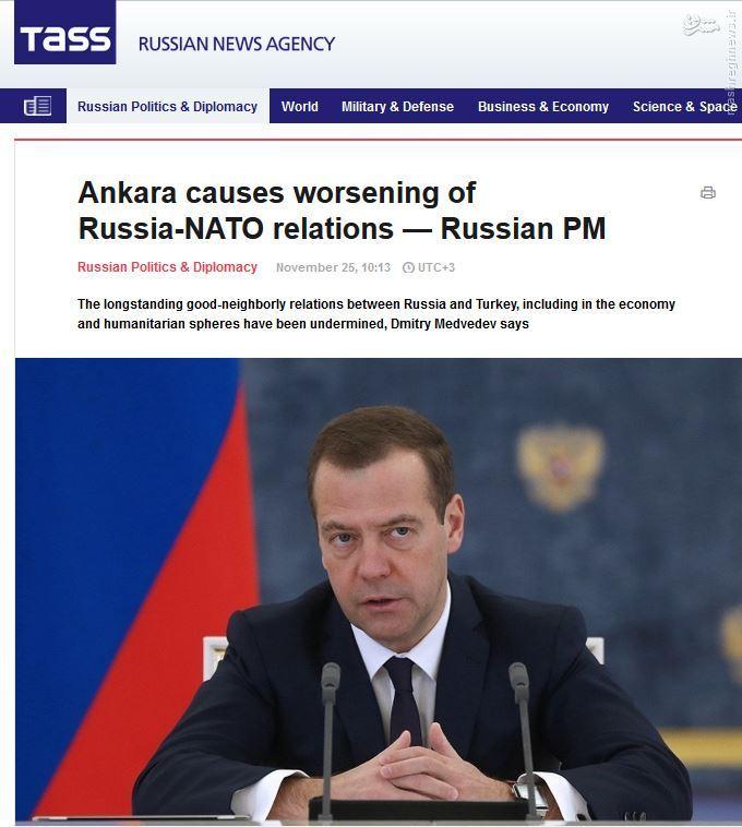 تحلیل رسانه های روسی  درباره سرنگونی سوخو24
