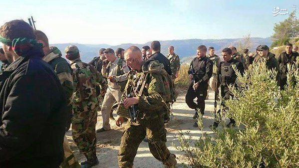 آزادسازی خلبان روسی توسط کوماندوهای حزبالله و ارتش سوریه+عکس