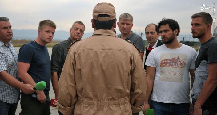 نجات خلبان روسیه توسط کوماندوهای حزبالله و ارتش سوریه+عکس