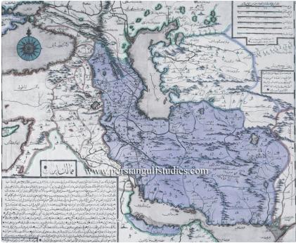 عکس/ نقشه ایران در سال 1729