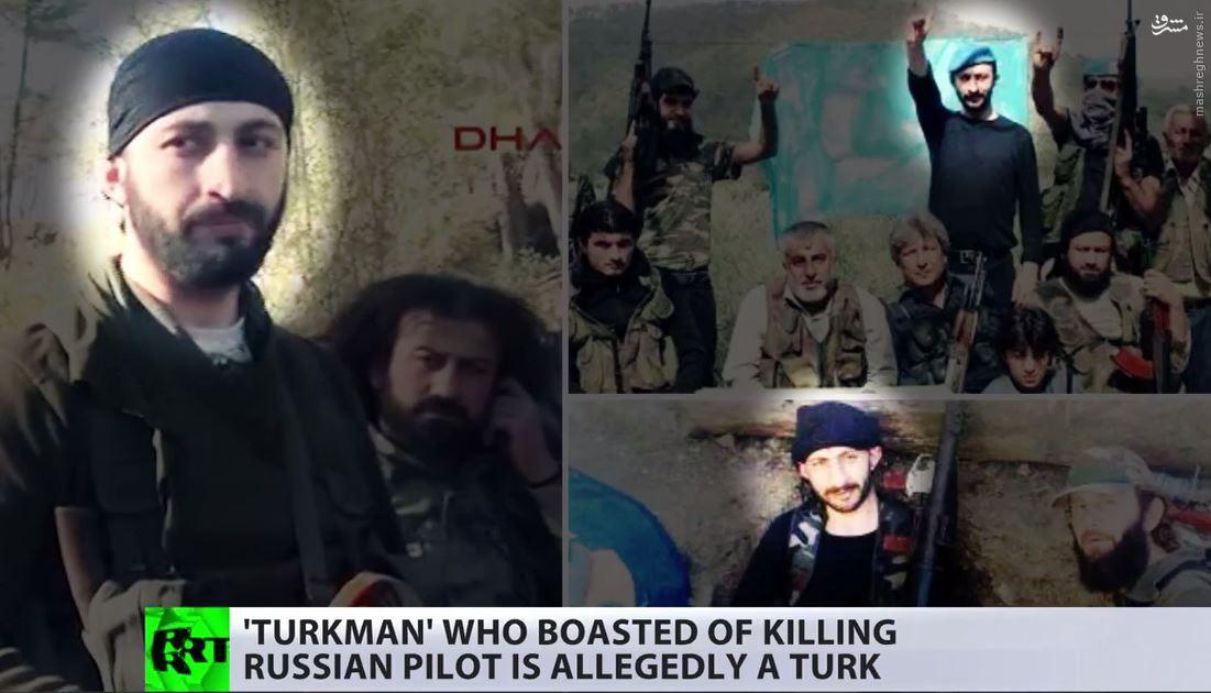 قاتل ترکتبار خلبان روسیه کیست +تصاویر و فیلم