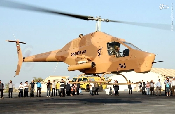 «شاهد 216»؛ ستاره جدید سپاه پاسداران که به آسمان میرود + عکس