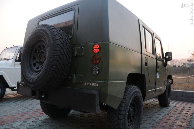 عکس/ خودروی تاکتیکی جدید ارتش چین