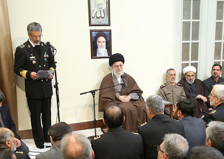مدیریت و نیروی انسانی خوب معجزه میکند/ دستیابی به جایگاه متناسب با شأن ایران اسلامی در امر دریا مسئولیت بزرگ نیروی دریایی است