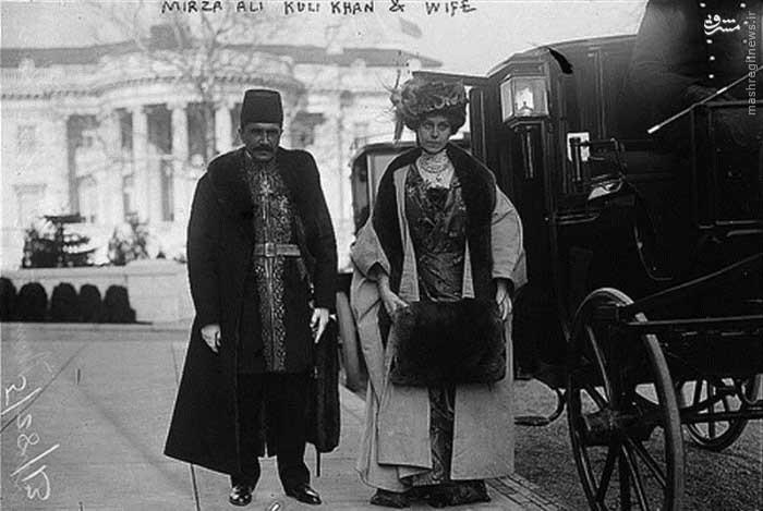 عکس/  اولین سفیر ایران در واشینگتن