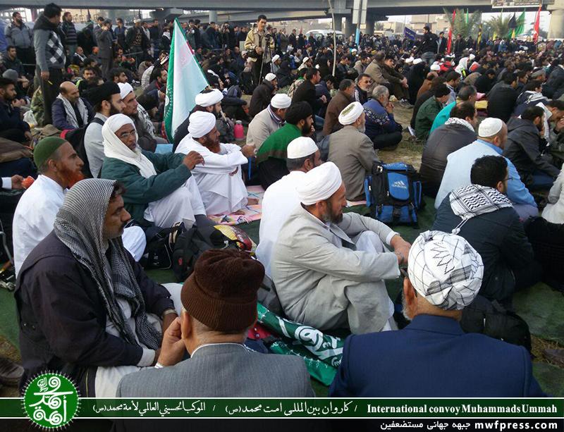 حضور اهل سنت در راهپیمایی اربعین یعنی اهلبیت(ع) فقط مختص شیعیان نیستند