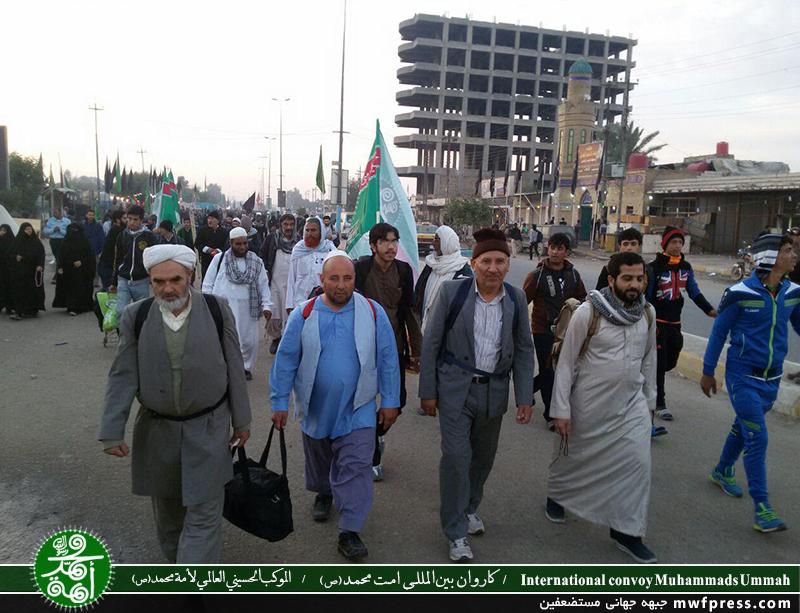 حضور اهل سنت در راهپیمایی اربعین یعنی اهلبیت(ع) فقط مختص شیعیان نیستند + عکس