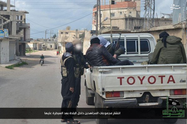درگیری خونین داعش و القاعده در جنوب سوریه+عکس و نقشه