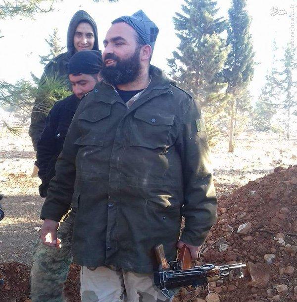 هلاکت فرمانده ارشد ارتش آزاد در جنوب حلب+عکس