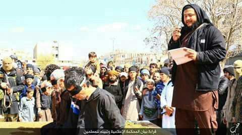 اعدام 5 شهروند سوری بهدست داعش+عکس