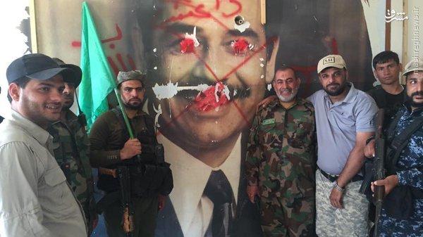 پاکسازی مقر داعش در شرق فلوجه+عکس