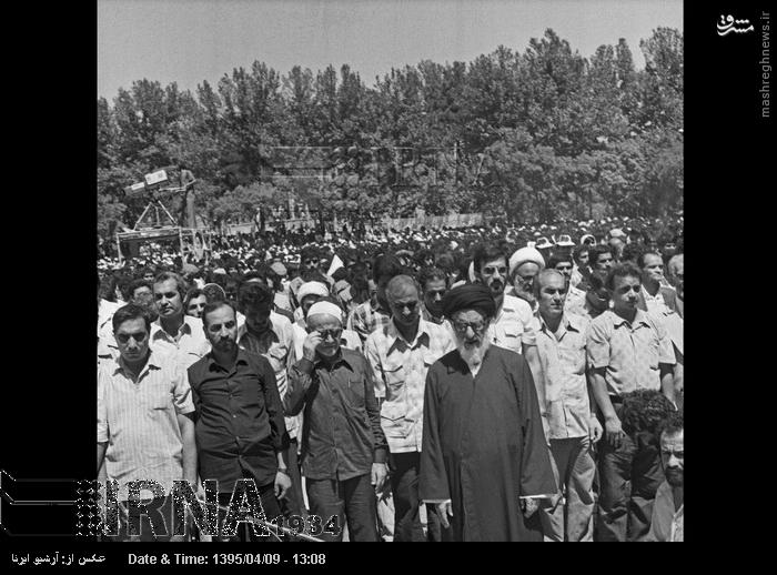 نخستین راهپیمایی روز قدس در سال ۵۸