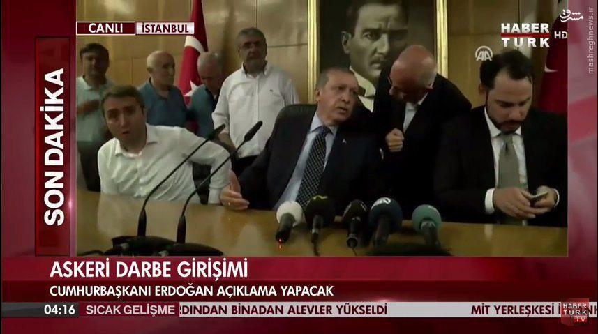 بمباران آنکارا توسط جنگندههای ارتش/ ورود هواپیمای اردوغان به استانبول و شعلهور شدن دوباره درگیریها/ نشست خبری اردوغان در فرودگاه آتاتورک + تصاویر و فیلم