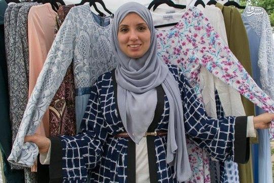 تهدید کمبود پوشاک اسلامی در نیویورک به فرصت تبدیل شد +عکس