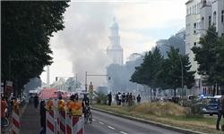 انفجار مهیب در برلین/ احتمال حمله تروریستی قوت گرفت +عکس