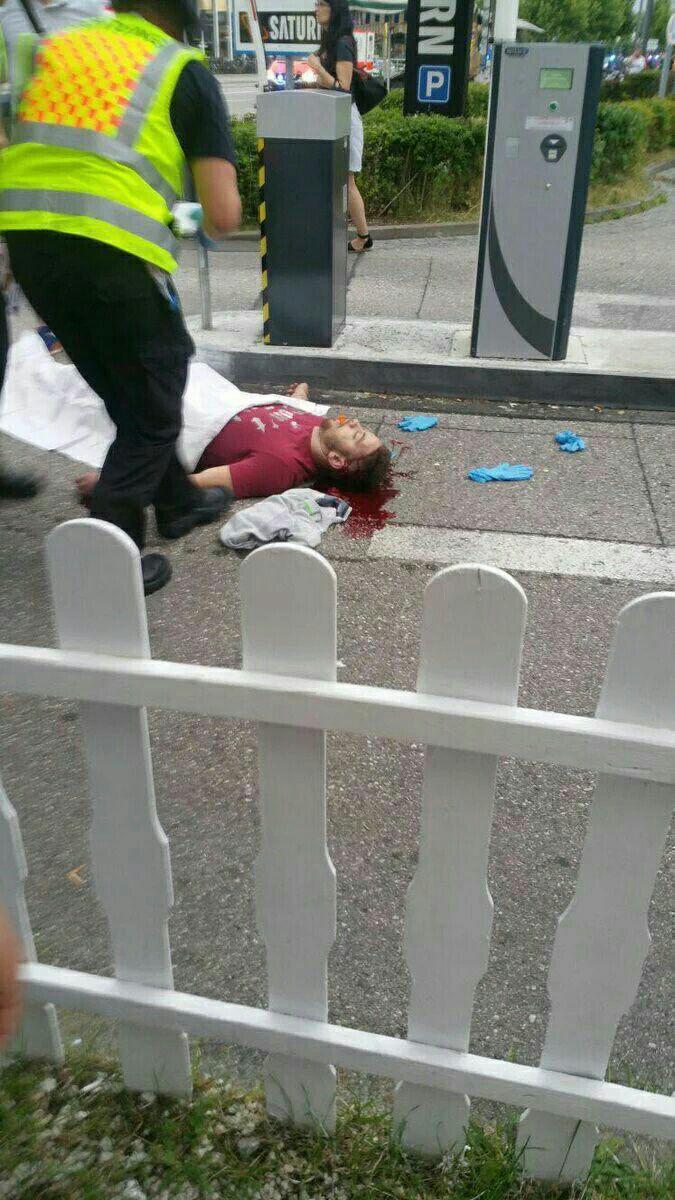 دهها کشته و زخمی در تیراندازی در مرکز خرید المپیا مونیخ/ محاصره محل حادثه توسط نیروهای امنیتی +عکس