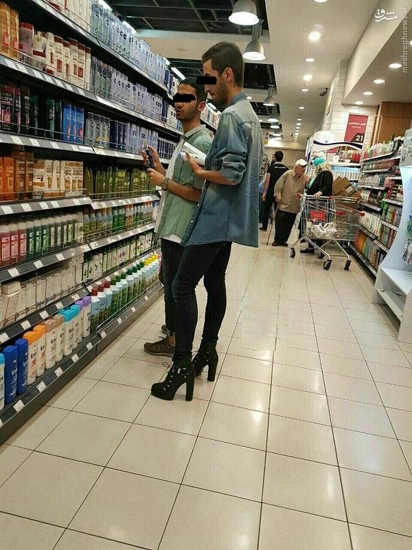 کفش های پاشنه بلند مردانه