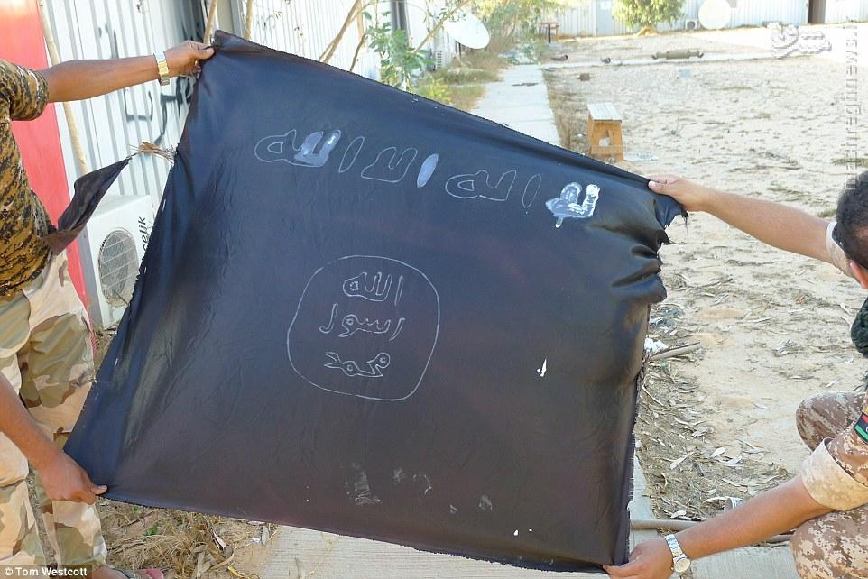تصاویر جالب از کارگاه بزرگ ساخت بمب داعش در لیبی