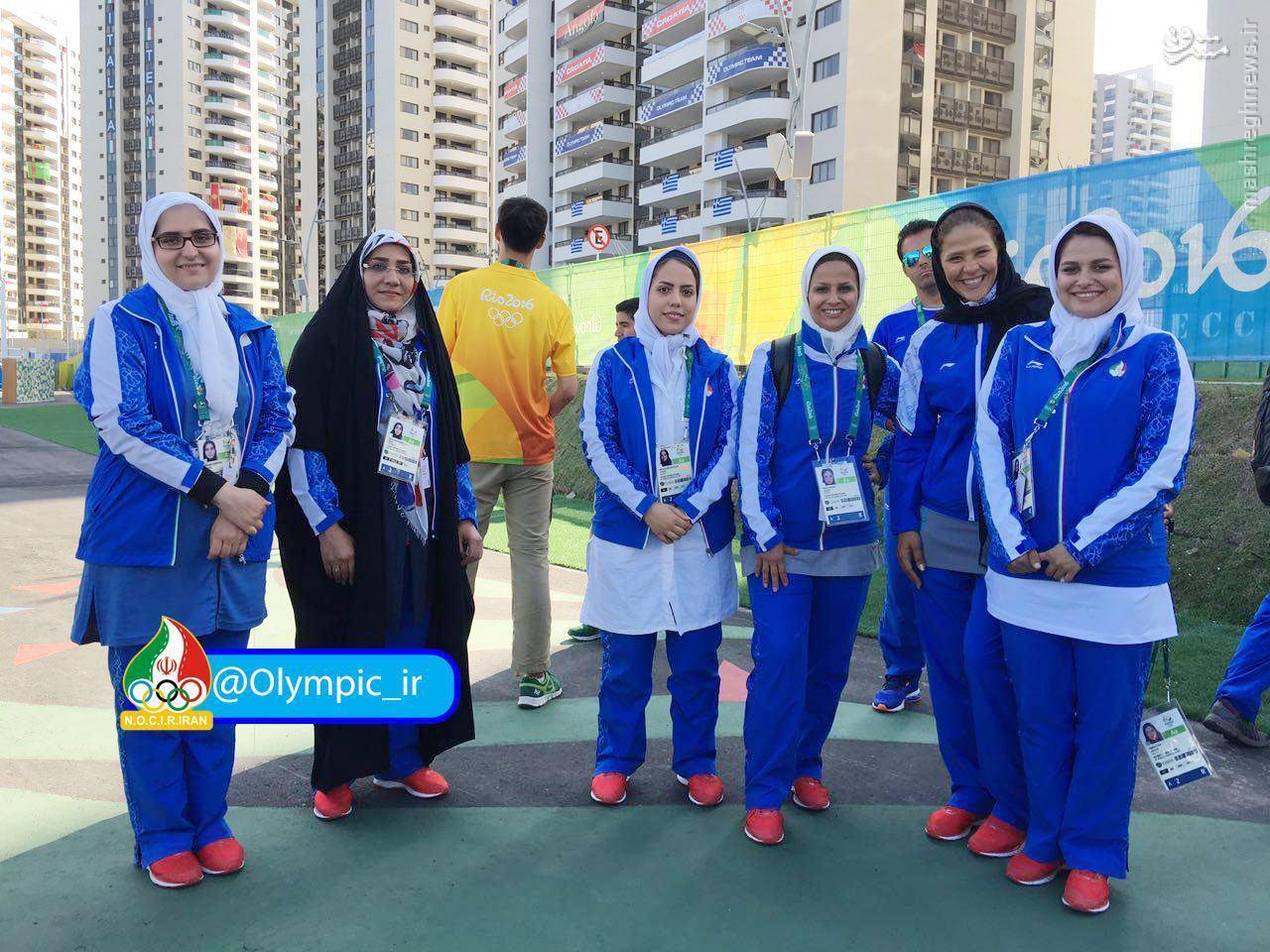 عکس/ بانوان ایران در دهکده بازی های ریو