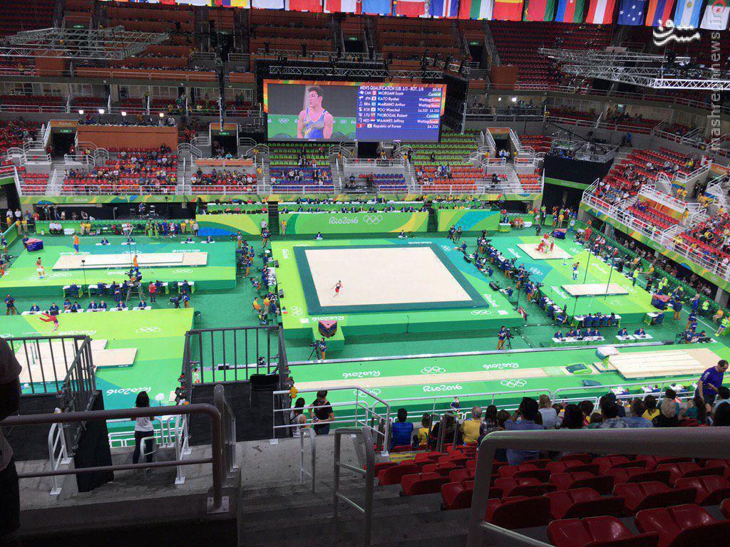 عکس/ خلوت ترین سالن در دهکده المپیک